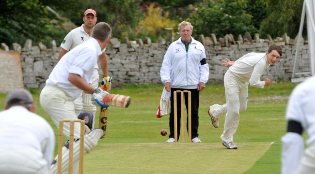 Bowler Ben Howell took six wickets for Oxenhope
