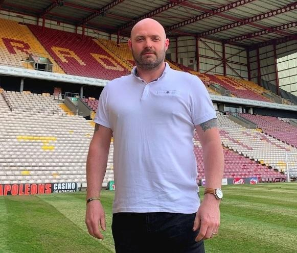 Mark Hird has stood down from his post as Bradford City Women chairman Picture: Bradford City FC