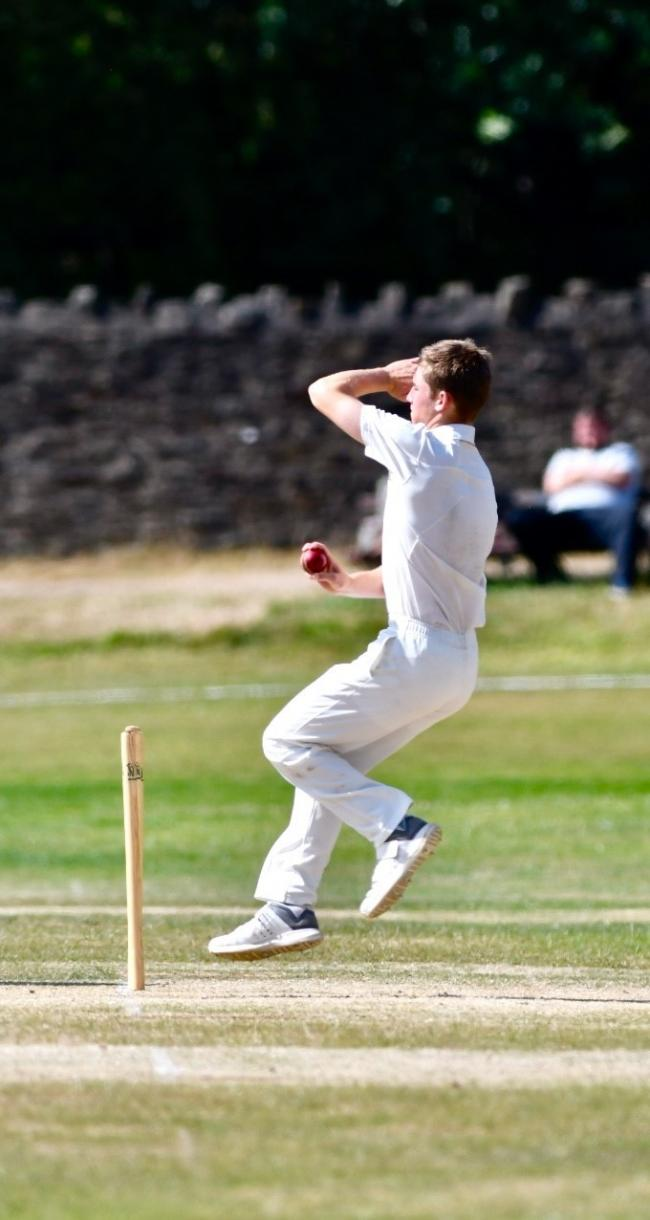 James Rogers was in the wickets as Keighley regained top spot