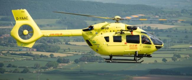 Yorkshire Air Ambulance has grounded both its helicopters