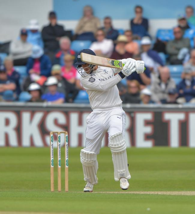 Tom Kohler-Cadmore says Yorkshire can play with freedom against Somerset   Picture: RAY SPENCER