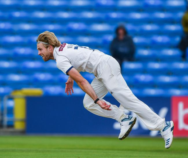 David Willey has played hardly any red-ball cricket since joining Yorkshire five years ago, but he showed his worth with a stunning bowling performance on the final day against Kent. Picture: Ray Spencer.