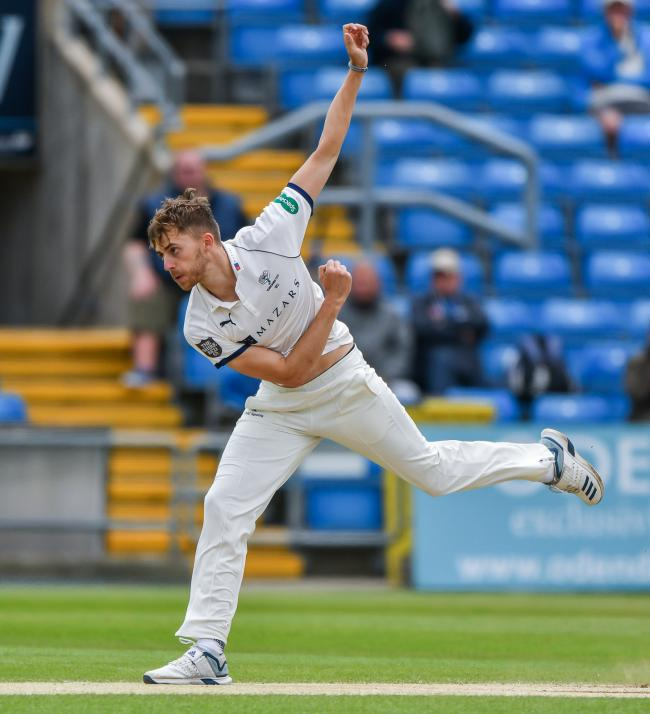 Ben Coad was unable to take the field for Yorkshire due to illness   Picture: Ray Spencer