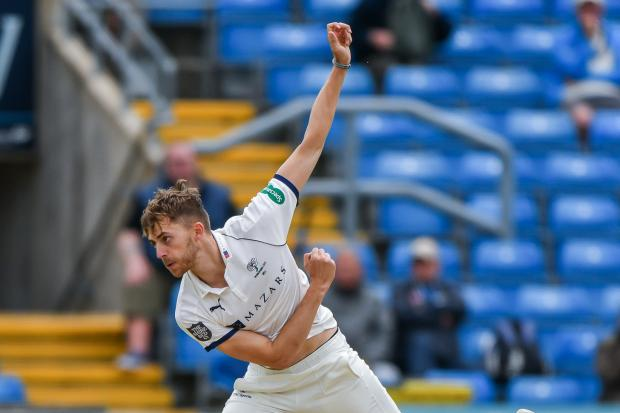 Ben Coad in action for Yorkshire on day three of their County Championship match against Essex at Headingley. Picture: Ray Spencer