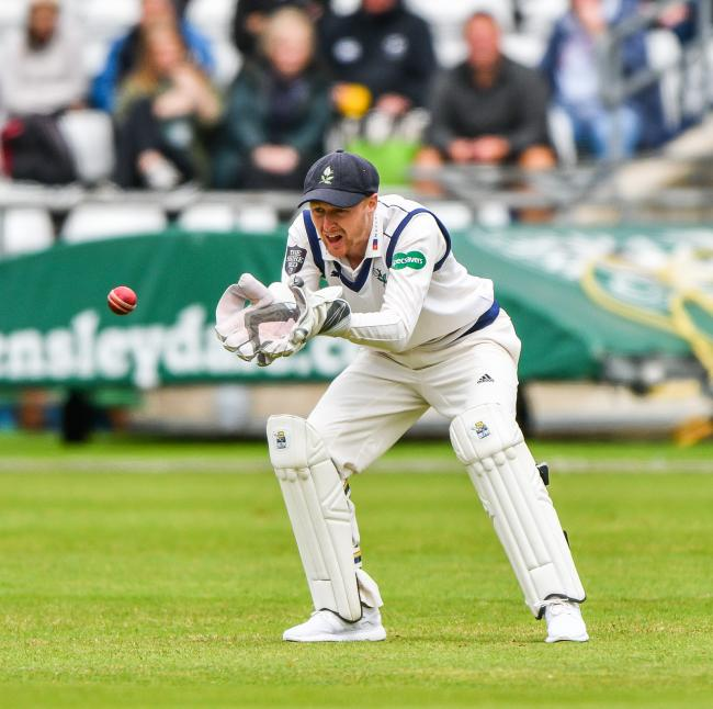 Jonny Tattersall scored 92 for Yorkshire on day one of their County Championship match against Nottinghamshire. Picture: Ray Spencer