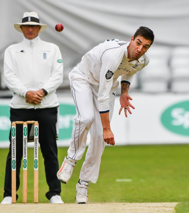 Duanne Olivier in action for Yorkshire against Essex at Headingley earlier in the season Picture: Ray Spencer