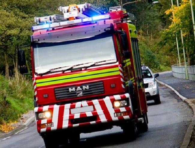 Fire crews called out to house fire started by