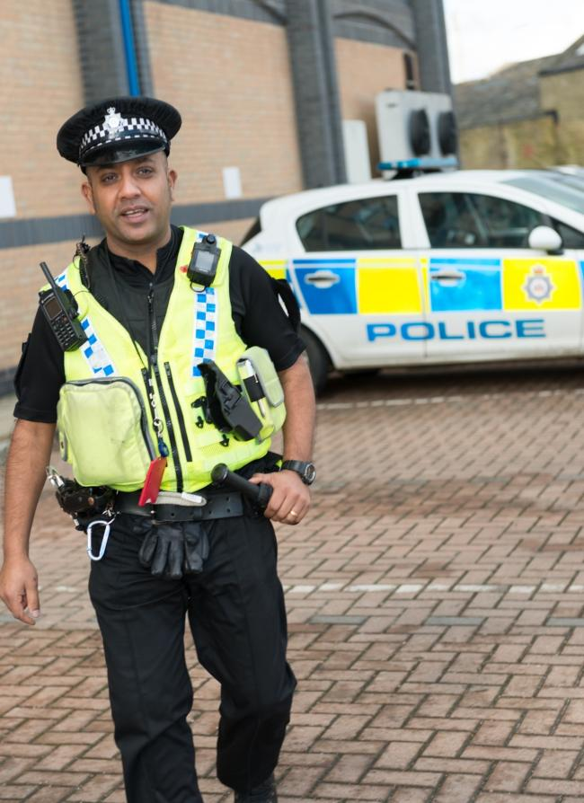 PC Dharmesh Mistry of West Yorkshire Police