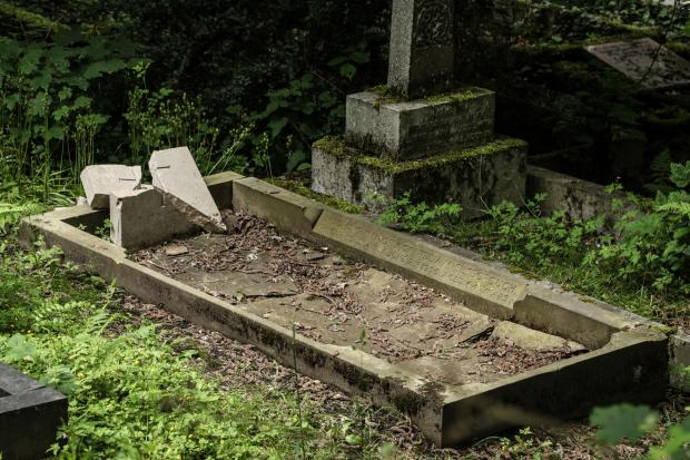 Bradford Telegraph and Argus: War Graves vandalised in Hirst Wood Shipley