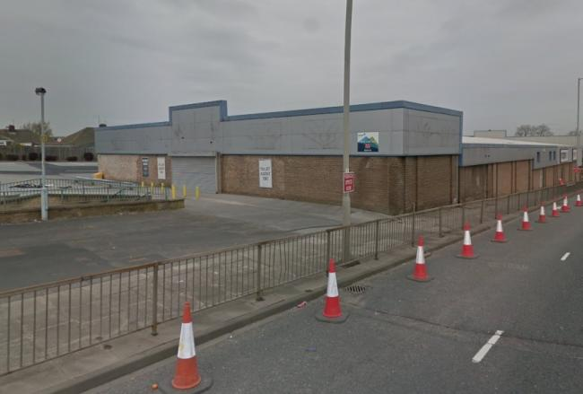 Topps Tiles' former site. Picture: Google Streetview