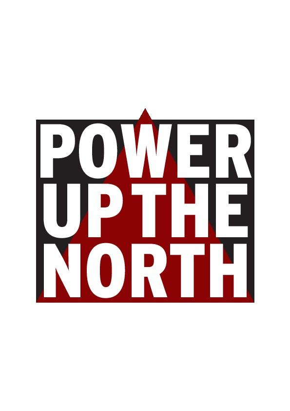 Power Up The North campaign logo