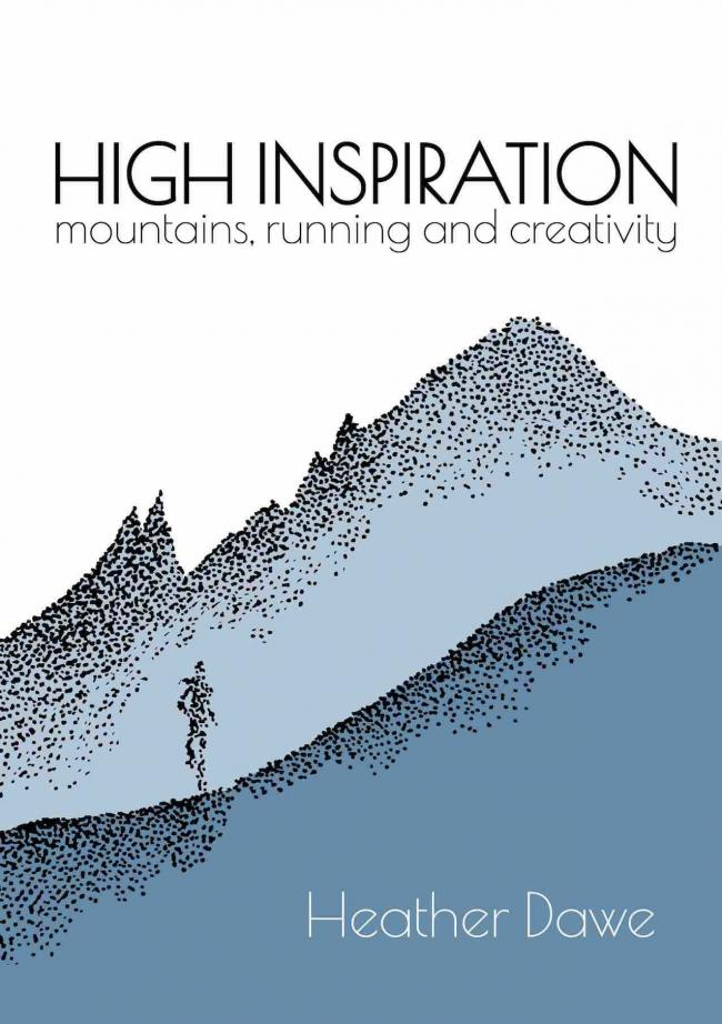 The front cover of Heather Dawe's new book, High Inspiration