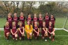 Bradford City under-15 girls double-winning side