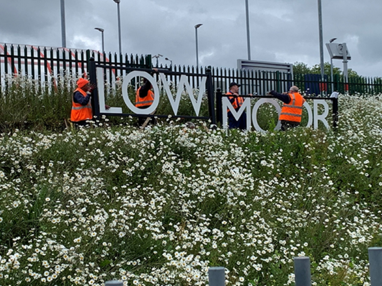 Bradford's Low Moor station given platform for publicity