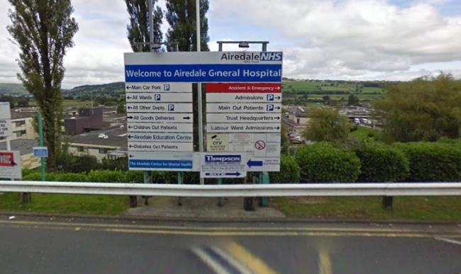 Three of the six sites named in the report are part of Airedale General Hospital Picture: Google Street View
