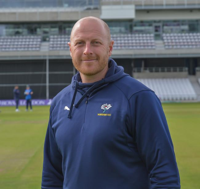 Yorkshire head coach Andrew Gale. Picture: Ray Spencer