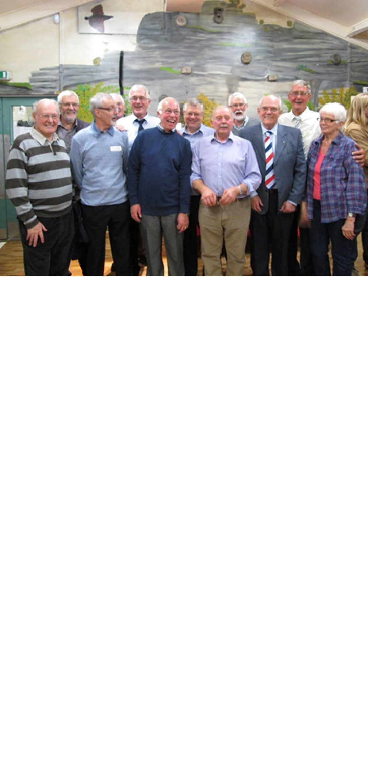 Birthday reunion for Birkenshaw Scout group