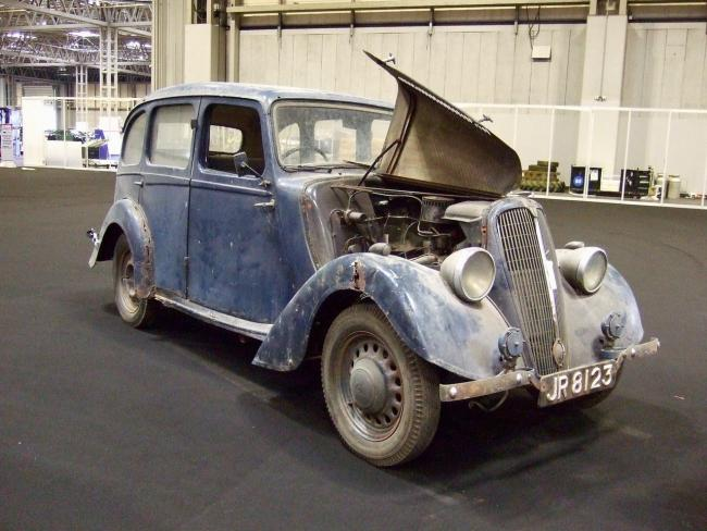 The car before the restoration