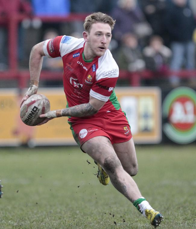 Ryan Wright has re-joined Keighley Cougars, initially on a month's loan, from Hunslet. Picture: Charlie Perry