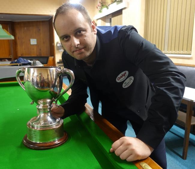Stefan Risidi has been crowned Bradford snooker champion following a 4-3 win over Kevin Firth